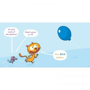 J'apprends l'anglais avec Cat & Mouse – Learn the colors !