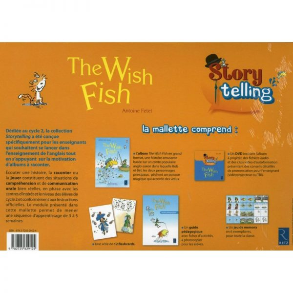 Story telling : The Wish Fish - CP CE1