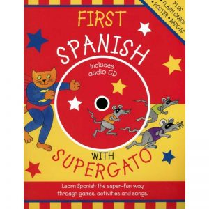First Spanish with Supercat – CD + poster