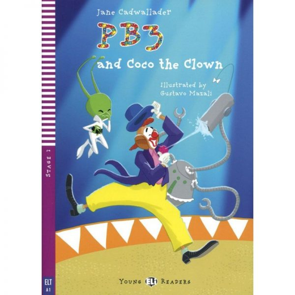 PB3 and Coco the clown - Lectures niv. A2 (Stage 2) Livre + CD