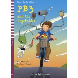 PB3 and the Vegetables – Lectures niv. A1 (Stage 2) Livre + Audio