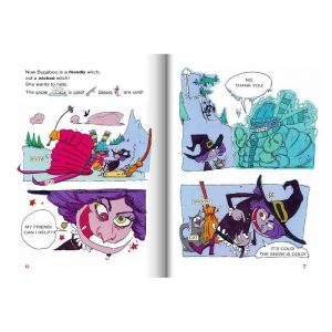 Bugaboo the wicked witch – Level 3, 7-9 ans – Livre + CD