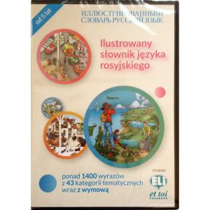 ELI Dictionnaire illustré Russe version CD – édition polonaise / contenu russe