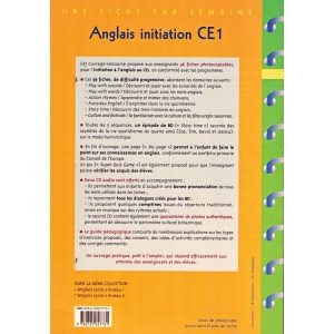 Anglais initiation CE1 + 2 CD - Retz - verso