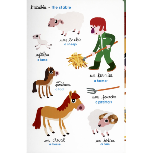 Cherche et trouve en anglais, à la ferme – Look and find on the farm ~ bilingue anglais
