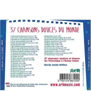 37 chansons douces du monde ~ Multilingue