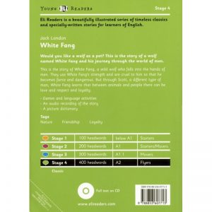 White Fang – Lectures niv. A2 (Stage 4) – Livre + CD