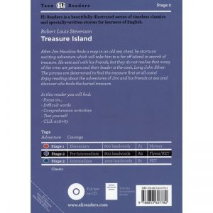 Treasure Island – Stage 2 / A2 – Livre + CD