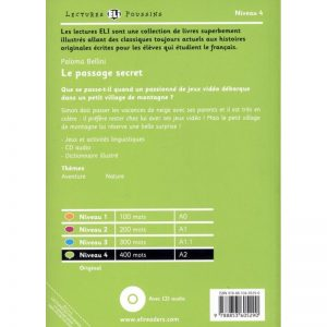 Le passage secret ~ livre + CD
