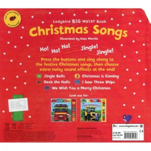 Christmas Songs – Noisy book ~ VO anglais
