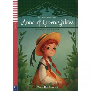 Anne of Green Gables – Lectures poussins pre A1 (Stage 1) – Livre + Audio