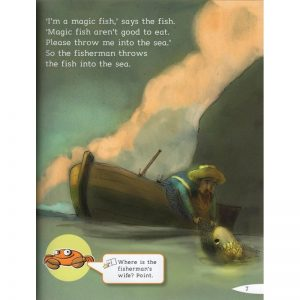 Helbling young readers – The Fisherman and his wife – Level C / Livre + CD audio/Rom