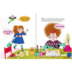 Let's go to School with Jenny and Jack ! ~ bilingue français-anglais