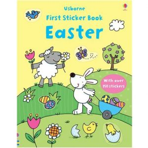 First sticker book: Easter ~ VO anglais