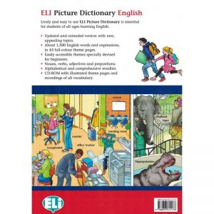 ELI Dictionnaire illustré anglais – Picture Dictionary English – Livre + CD-Rom
