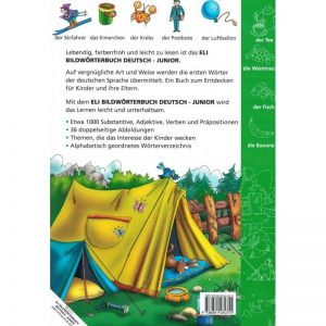 ELI Dictionnaire illustré allemand Junior – Bildworterbuch Deutsch Junior
