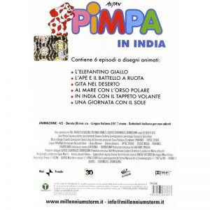 Pimpa in India – DVD en italien